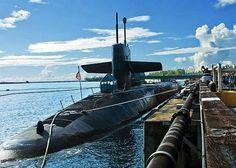 Submarine Moored Dock