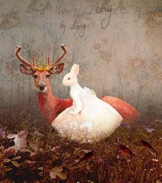 Deer Friends and Deer Ladies / Zeng