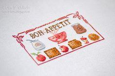Lovely stitch: Bon appetit