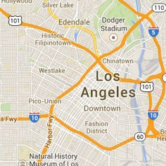 Luckymag.com Los Angeles Shopping Guide - Google Maps