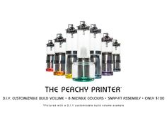 It's been a long time coming, but The Peachy Printer Kit V1.0 is here!  Check out the update http://kck.st/1HLKyj1