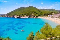 Praia Cala de Sant Vicent - águas cristalinas...