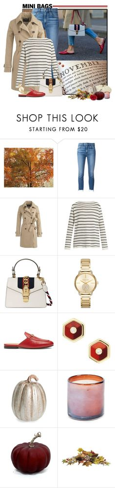 """""""Gucci Mini-Bag"""" by fashionista88 ❤ liked on Polyvore featuring Wood Wood, 3x1, J.Crew, The Row, Gucci, Michael Kors, Mark Davis, Midwest of Cannon Falls and LAFCO"""