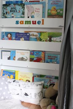 """Tidy Books personalised bookcase by the German blogger """"Liebling ich blogge jetzt"""""""