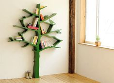 Tree Bookshelf Design furniture furnishings design and decor decor home design directory south africa Tree Bookshelf, Tree Shelf, Bookshelf Design, Book Shelves, Bookshelf Ideas, Book Storage, Storage Room, Nursery Bookshelf, Bookshelf Plans