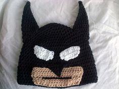Crochet Dark Knight Hat Pattern Inspired by the Character Batman
