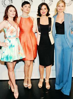Once Upon A Time Ladies | Emilie de Ravin, Ginnifer Goodwin, Lana Parrilla and Jennifer Morrison