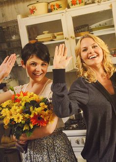 """""""I'm the daughter of Snow White and Prince Charming, which apparently makes me the product of true love."""" Emma Swan"""