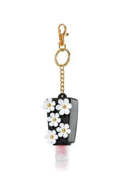 Black & White Flowers PocketBac Holder - Bath & Body Works - Bath & Body Works