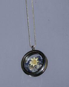 Sodalite Necklace Raw Crystal Terrarium by BottleStillLife on Etsy
