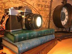 Vintage Praktica Camera Lamp Post War