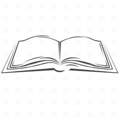 Symbolic open book Vector Image – Vector illustration of Objects © prague House Beautiful beauty and the beast lebanon opera house Free Vector Clipart, Free Clipart Images, Vector Graphics, Open Book Drawing, Line Drawing, Book Clip Art, Book Art, Book Silhouette, Minimalist Book