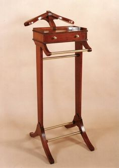 Valet Stand : Classic : Hand Made English Furniture   Veranda Home Interiors
