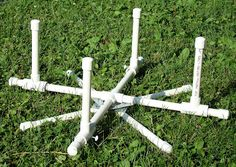 Making your own yarn swift using PVC pipes (total cost was under 20 dollars)