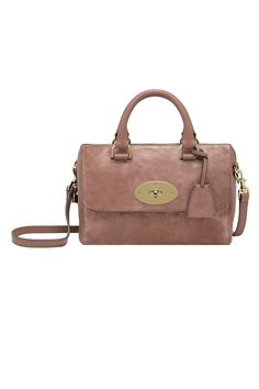 32f0c36d4ed6 Mulberry - Small Del Rey in Milk Chocolate Heavy Suede