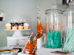 My very own DIY baby shower!! Success! Rock Candy!