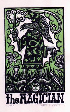 Magician Tarot Art #magician