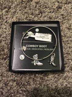 Alex & Ani Cowboy Boot Charity Russian Silver Bracelet - http://designerjewelrygalleria.com/alex-ani/alex-ani-cowboy-boot-charity-russian-silver-bracelet/