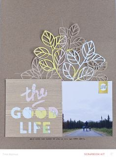 The Good Life *MKO* by lifelovepaper at @studio_calico