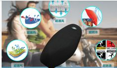 3D Black type L wide45-50cm length 78-88cm motorcycle seat cover scooter seat cover motorbike seat cover FREE SHIPPING