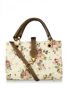 00bd93902e29 FEMME FATALE Floral Print Hand Bag from KOOVS.COM Bags Online Shopping