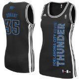 Oklahoma City Thunder Adidas NBA Kevin Durant #35 Womens Static Jersey (Black) M - http://nbajerseygirls.com/oklahoma-city-thunder-adidas-nba-kevin-durant-35-womens-static-jersey-black-m/