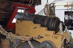 HMS Surprise cannon