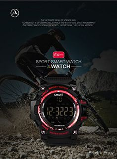 """TKSTAR Bluetooth Smartwatch Phone with Camera Waterproof Sleep Monitor Pedometer Smartwatch 1.22"""" for Men/Women Fitness Activity Tracker iPhone Android Smartphones (8 Months Standby Swimming – Black)   IP67 Waterproof(50m) Smart Bluetooth Watch 24h Real Time Sports Outdoor Monitoring/Alarm Clock/12 Months Standby Wrist Watch Call&SMS Alert/Digital Lumi"""