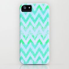 Glowing Chevron IPhone IPod Case By Marianna Tankelevich