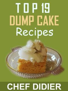 Free Kindle Book For A Limited Time : Top 19 Dump Cake Recipes - This price won't last! Pick up your copy today before the price goes up!Don't let anyone fool you, there are few dump cake recipes and I have compiled the best of the best dump cake recipes in this amazing dumb cake recipe book. I enjoy making dump cake, I have been baking it for over 30 years and I can't get enough of it. It is very addictive.Dump cake is as simple as ABC, just combine the ingredients in the right order and ba...