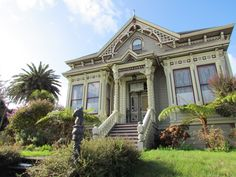 William S. Clark House was built in 1888 in Eureka, California, in the Stick-Eastlake-Queen Anne Styles of Victorian architecture.