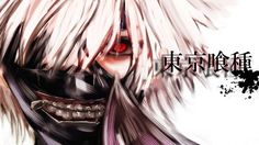 Tokyo Ghoul High Resolution Ken Kaneki Mask White Hair