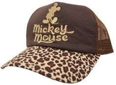 Mickey Mouse Leopard Print Hat