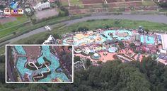 8 jovens foram atacadas nas nádegas e sofreram cortes num famoso parque aquático de Tóquio.