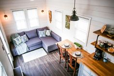Living & Dining Areas - Modern Take Two by Liberation Tiny Homes