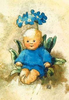 Soloillustratori: Mili Weber e Anna Haller Flower Fairies, Flower Art, Nursery Pictures, Elves And Fairies, Vintage Children's Books, Fairy Art, Children's Book Illustration, Whimsical Art, Beautiful Artwork