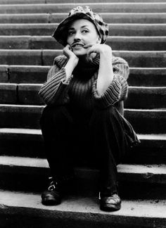 "Jeanne Moreau as ""Thomas"" in Jules & Jim (1962)"