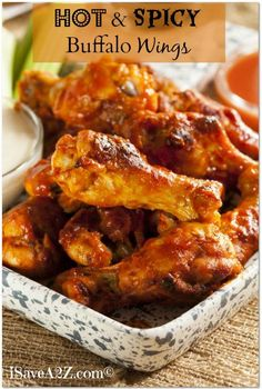 Hot and Spicy Buffalo Wings Recipe!!! BAKED NOT FRIED!
