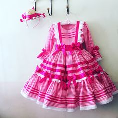 Vestido junino Rosinha Girl Dress Patterns, Doll Clothes Patterns, Clothing Patterns, Girls Dresses, Summer Dresses, Abaya Fashion, Baby Love, Baby Dress, Cute Girls