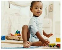 The complete checklist of developmental milestones for babies and children: mother-child – Baby Development Tips Teaching Cursive Writing, Learning Cursive, Pediatric Physical Therapy, Occupational Therapy, Gross Motor Activities, Infant Activities, Baby Development, Dramatic Play, Training Center