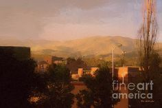 Renaissance Santa Fe by RC deWinter  Lovely digital painting