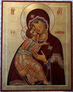 Theotokos by Paul Drozdowski Religious Icons, Religious Art, Roman Church, Madonna, Christian Religions, Church Interior, Orthodox Christianity, Catholic Art, Orthodox Icons