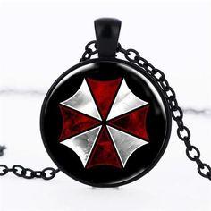 Newest Resident Evil Umbrella Necklace