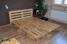 łóżko z palet - Szukaj w Google My Room, Diy Furniture, Interior Design, Furnitures, Bed, Table, Room Ideas, Number, Interiors