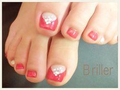 フットネイル☆人気カラーの画像 | Nail salon Briller