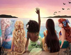 - Disney Princess Hawaiian Vacation Disney Princess Hawaiian Vacation Informations Abo - Disney Princess Fashion, Disney Princess Pictures, Disney Princess Drawings, Disney Princess Art, Disney Pictures, Princess Rapunzel, Disney Rapunzel, Disney Princess Cartoons, Cartoons