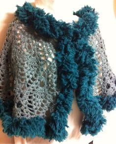 crochet shawl poncho