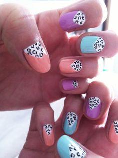 leopard & pastel