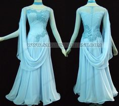 Smooth ballroom dance dress...they're always prettier than International dresses