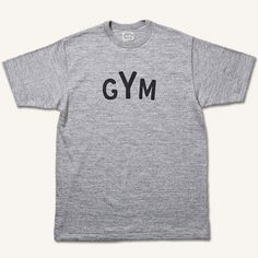 T-SHIRTS GYM - THE RUGGED MUSEUM | ラギッドミュージアム | Online Shop: